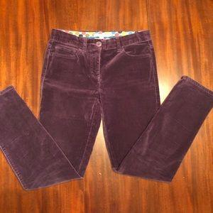 Boden Velveteen Size 4 Petite Jeans